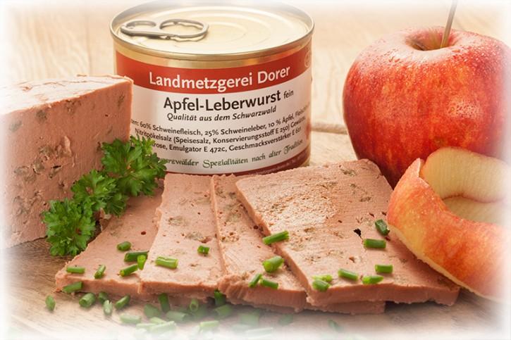 Apfel-Leberwurst fein 190g Dose