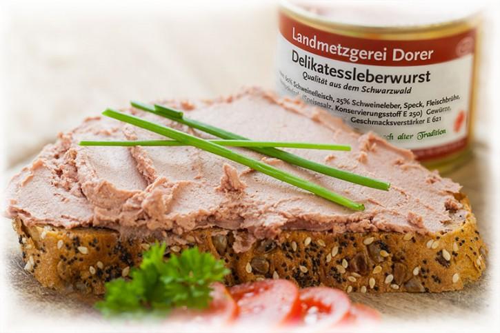 Delikatessleberwurst 190g Dose