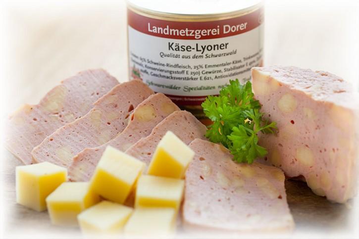 Käse-Lyonerdose 190g Dose