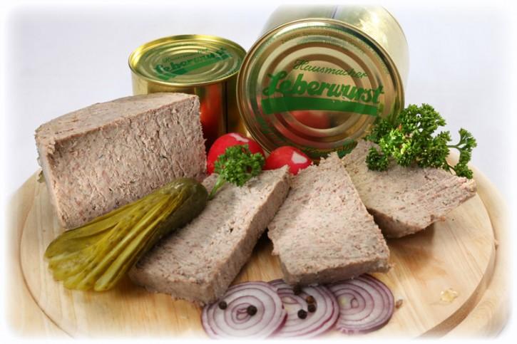 Leberwurst ab 120g Dose
