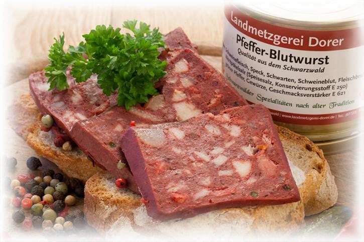 Pfeffer-Blutwurst 190g Dose