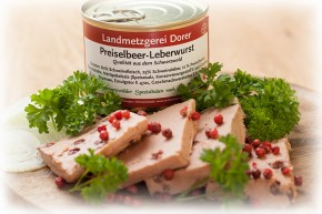 Preiselbeer-Leberwurst 190g Dose