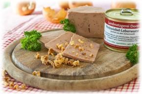 Röstzwiebel-Leberwurst fein 190g Dose